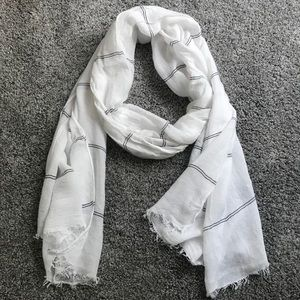 White Summer Scarf
